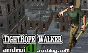 بازی تعادل بر روی طناب با TightRope Walker 3D